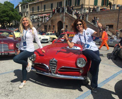 Prisca Taruffi e Savina Confaloni su Alfa